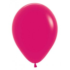 "Globos de 11"" Fashion solido Frambuesa Sempertex"