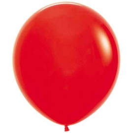 "Globos de 18"" (45Cm) Fashion solido Rojo"