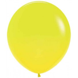 "Globos de 18"" (45Cm) Fashion solido Amarillo"