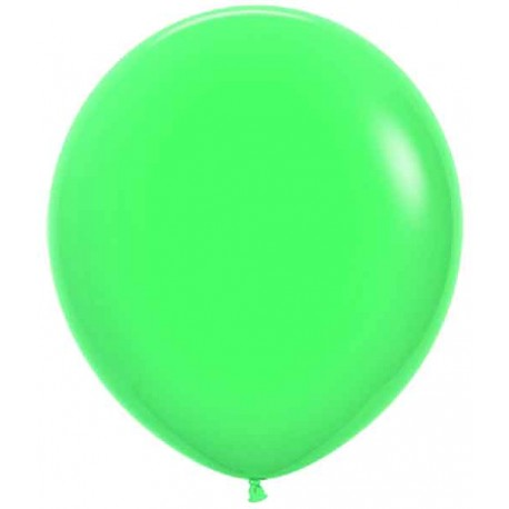 "Globos de 18"" (45Cm) Fashion solido Verde"