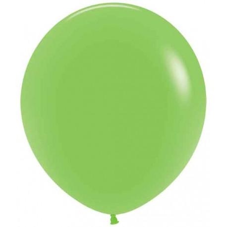 """Globos de 18"""" (45Cm) Fashion solido Verde Lima"""