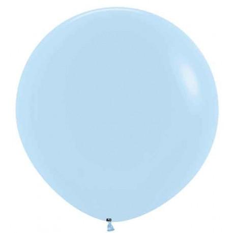 "Globos de 18"" (45Cm) Pastel Mate Azul"