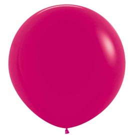 Globos 3FT (100cm) Fashion solido Frambuesa