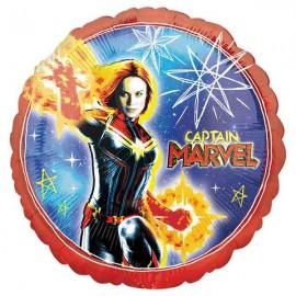 """Globos de foil 17"""" (43Cm) Capitana Marvel"""