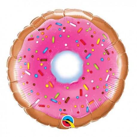"""Globos Foil de 9"""" (23Cm) Donut"""
