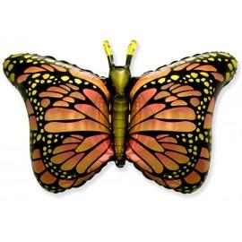Globos de Foil Supershape Mariposa Naranja
