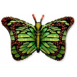 Globos de Foil Supershape Mariposa Verde
