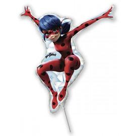 Globos Foil MINIshape Ladybug