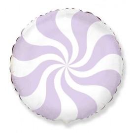 "Foil 18"" (45Cm) Caramelo Baby Lila Pastel"