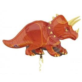"Globos Foil de 42"" (106Cm) Triceratops"
