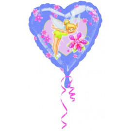"""Globos de foil de 18"""" Campanilla corazones"""