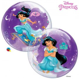 """Globos de 22"""" Bubbles Jasmine Disney"""
