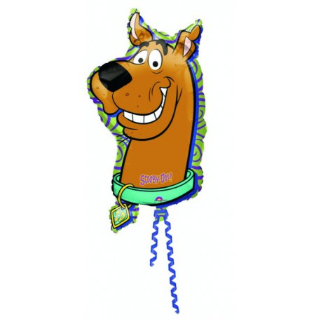 "GLOBOS DE FOIL SUPERSHAPE 18"" X 34"" SCOOBY DOO"