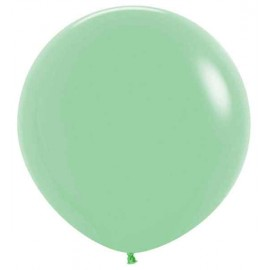 """Globos de Látex de 24"""" (61Cm) Verde Menta"""