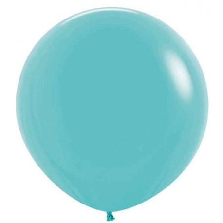 "Globos de Látex de 24"" (61Cm) Azul Caribe"