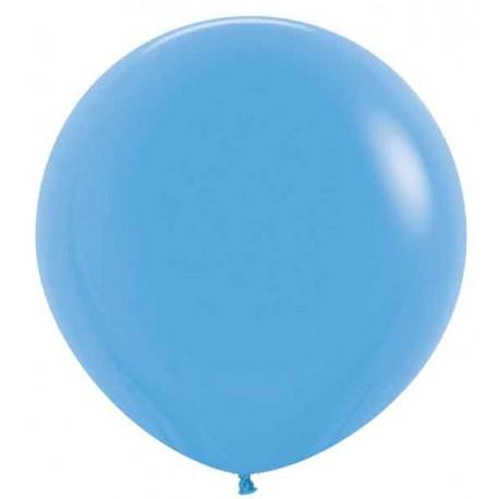 """Globos de Látex de 24"""" (61Cm) Azul"""