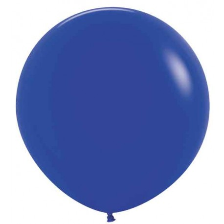 "Globos de Látex de 24"" (61Cm) Azul Rey"