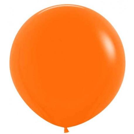 "Globos de Látex de 24"" (61Cm) Naranja"