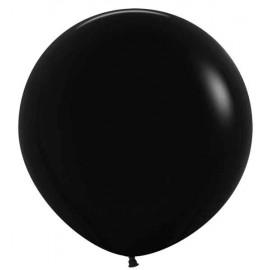 """Globos de Látex de 24"""" (61Cm) Negro"""
