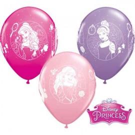 """Globos de 11"""" Princesas Disney B6"""