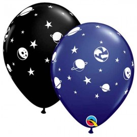 "Globos de 11"" Fuera De Orbita Qualatex"