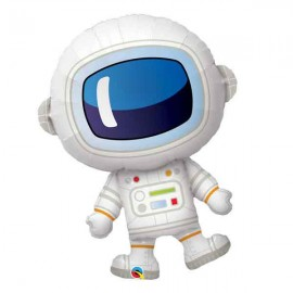 "Globos de foil 37"" Astronauta Cabezon Qualatex"