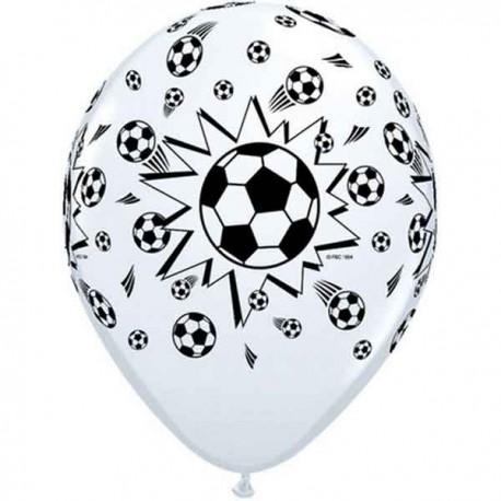 "Globos de 11"" Balones de FUTBOL B6"