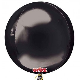 """Globos Foil 16"""" ORBZ Negro"""