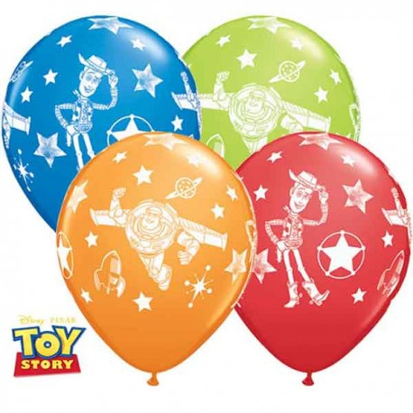 """Globos de 11"""" Toy Story Estrellas"""