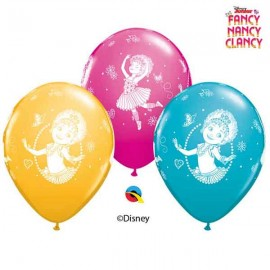 "Globos 11"" Fancy Nancy Clancy B6"