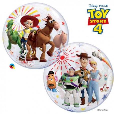 """Globos de 22"""" Bubbles Toy Story 4"""
