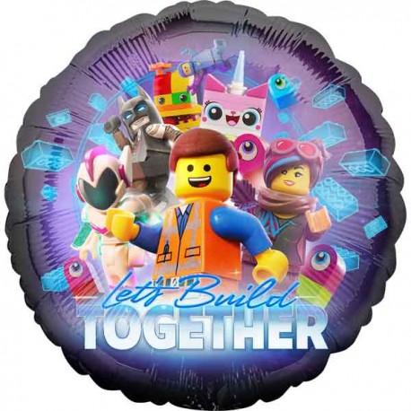"""Globos de foil 17"""" (43Cm) Lego Movie 2"""