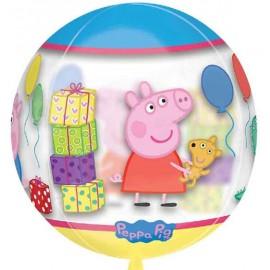 """Globos ORBZ 16"""" Peppa Pig"""