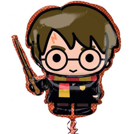 """Globos Foil 31"""" x 19"""" Harry Potter"""
