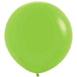 "Globos Látex 24"" (61Cm) Neon Verde"