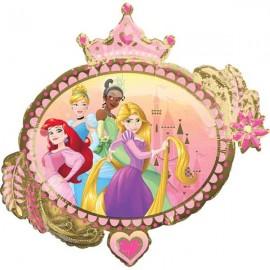 "Globos Foil Supershape 34"" (86Cm) Princesas Disney"