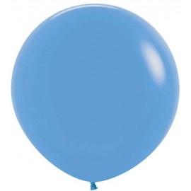 """Globos Látex 24"""" (61Cm) Neon Azul"""