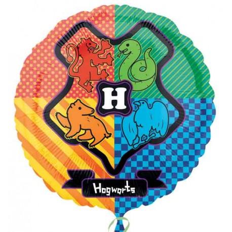 """Globos de foil 17"""" (45Cm) Escudo Hogwarts"""