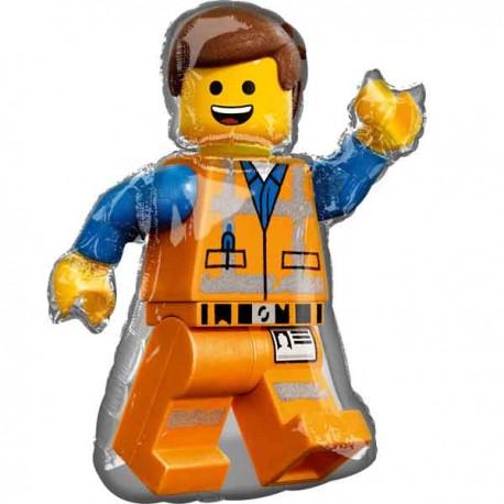 """Globos Foil 32"""" x 24"""" Lego Movie"""