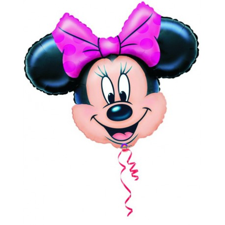 "GLOBOS DE FOIL SUPERSHAPE 28"" MINNIE"