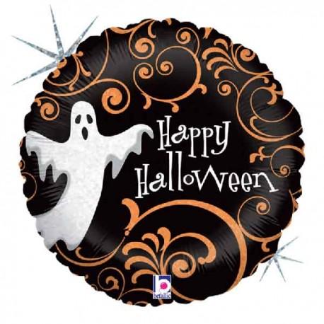 "Globos de foil de 9"" Fantasma Halloween"