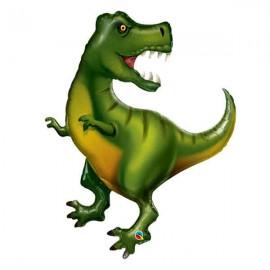 """Globos Foil de 42"""" (107Cm) Tiranosaurio"""