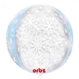 """Globos Foil 16"""" ORBZ Copo Nieve"""