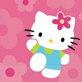 Servilletas Hello Kitty 16uni