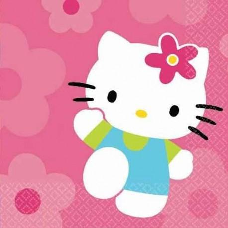 Servilletas Hello Kitty 16uni