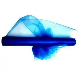 Tulle 30cm x 20m color azul Marino