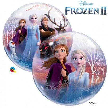 """Globos de 22"""" Bubbles Disney Frozen 2"""