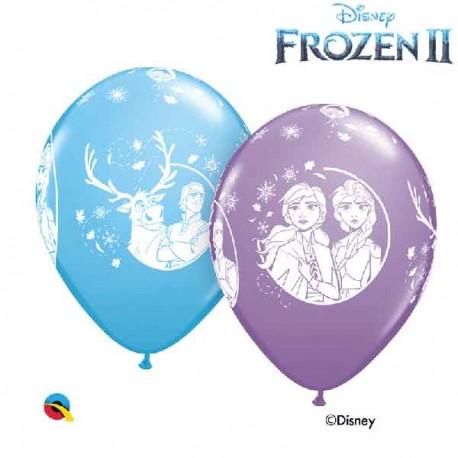 "Globos de Látex 12"" Frozen 2 B6"