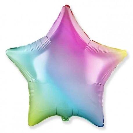 """Globos Foil Estrellas 18"""" Multicolor"""