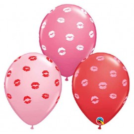 "Globos de 11"" Labios Besando Qualatex"